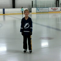 Photo taken at Clearwater Ice Arena by William G. on 10/4/2014