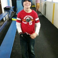 Photo taken at Clearwater Ice Arena by William G. on 10/10/2015
