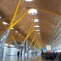 Photo taken at Adolfo Suárez Madrid-Barajas Airport (MAD) by Salvador V. on 2/23/2013