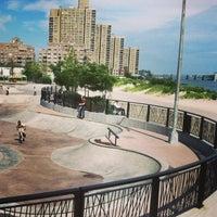 Photo taken at Far Rockaway Skatepark by Stephanie V. on 8/3/2013