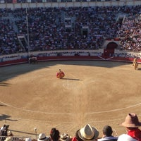 Photo taken at Arènes de Beziers by Frank H. on 8/17/2014