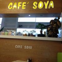 Photo taken at Cafe Soya by Maria V. on 8/22/2013
