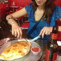 Photo taken at Zen's Pizza by Sara H. on 5/10/2013