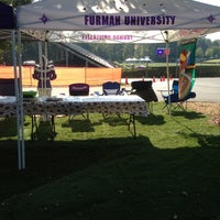 Photo taken at Furman Tailgating by Ken F. on 10/5/2013