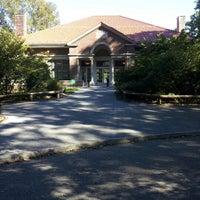 Photo taken at Prospect Park Picnic House by Fernando M. on 9/23/2012