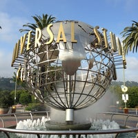 Photo taken at Universal Studios Hollywood Globe and Fountain by Jermin L. on 4/2/2013