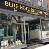 Photo taken at Blue Note Record Shop by Chuck W. on 12/29/2015