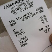 Photo taken at Tamarind Ave Deli by Chuck W. on 10/18/2012