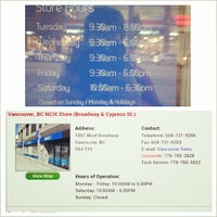 Photo taken at NCIX Vancouver Outlet Store by Jerkwithacamera on 10/23/2013