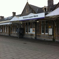 Photo taken at Weston-super-Mare Railway Station (WSM) by Kevin C. on 1/6/2013