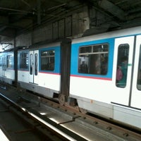 Photo taken at Yellow Line - Quezon Avenue Station by Rhoniel Jedh L. on 2/4/2013