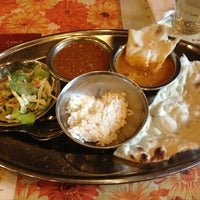 Photo taken at GANESHA Restaurant by Michelle N. on 2/17/2013
