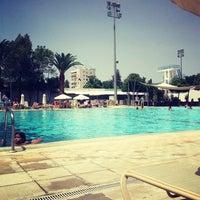 Photo taken at Nicosia Munincipal Swimming Pool by Olga Z. on 6/9/2013