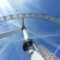 Photo taken at The London Eye by Varvara U. on 6/30/2013