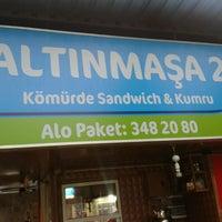 Photo taken at Altınmaşa Büfe by Berkay K. on 3/9/2013
