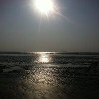 Photo taken at Murud Beach by Avni C. on 1/1/2013