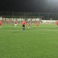 Photo taken at Abdurrahman Temel Futbol Sahası by Serhat Ş. on 2/6/2013