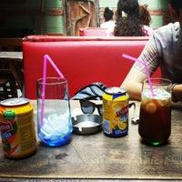 Photo taken at Arka Sokak Cafe by Ebru M. on 6/28/2013