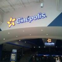 Photo taken at Cinépolis by Arthuro P. on 3/18/2013