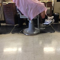Photo taken at Shields & West Barber Shop by Sy O. on 1/30/2013