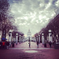 Photo taken at Civic Center Plaza by Tyson Q. on 12/8/2012