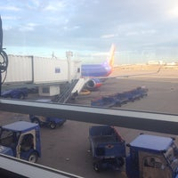 Photo taken at Gate C41 by Jonathan B. on 10/22/2014