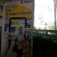 Photo taken at Galeri Indosat by hilman m. on 6/19/2013
