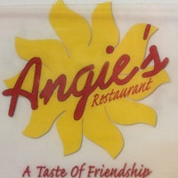 Photo taken at Angie's Restaurant by Janice H. on 4/15/2013