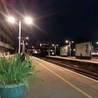 Photo taken at Southampton Central Railway Station (SOU) by Matt F. on 4/19/2013