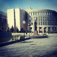 Photo taken at Bilkent University by Burcu E. on 2/25/2013