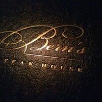 Photo taken at Bern's Steak House by Allie B. on 2/13/2013