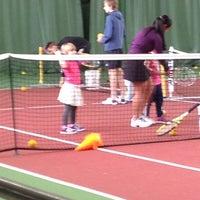 Photo taken at Kronprinsens Tennishall & Tenniscenter by Charlotte C. on 3/2/2013
