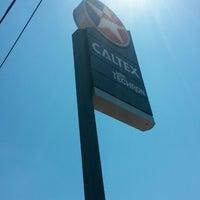 Photo taken at Caltex Sg Ular by Hisham I. on 6/7/2014