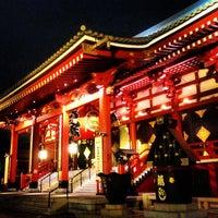 Photo taken at Senso-ji Temple by Yoshiki I. on 6/19/2013