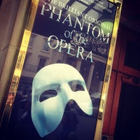 Photo taken at Her Majesty's Theatre by Cruz T. on 6/13/2013