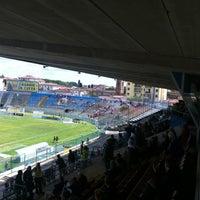 Photo taken at Arena Garibaldi - Stadio Romeo Anconetani by Matteo M. on 5/26/2013