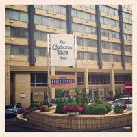 Photo taken at Copthorne Tara Hotel by Dick I. on 6/18/2013