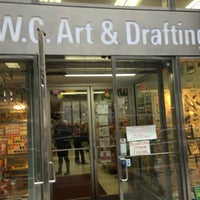 Photo taken at W.C. Art and Drafting Supply by Nate F. on 6/28/2016