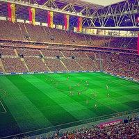 Photo taken at Türk Telekom Arena by Hasan U. on 7/5/2013