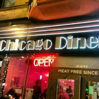 Photo taken at Chicago Diner by Jimbo D. on 2/10/2013