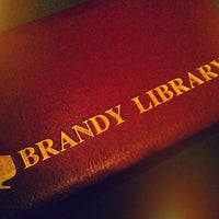 Photo taken at Brandy Library by Luke on 1/12/2013