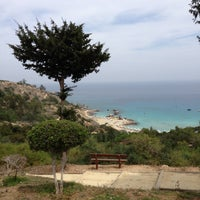 Photo taken at Konnos Beach by Наташа У. on 5/8/2013