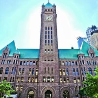 Photo taken at Minneapolis City Hall by Mike B. on 9/16/2013