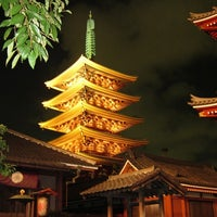 Photo taken at Senso-ji Temple by barbie o. on 7/11/2013