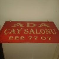 Photo taken at ADA Çay Salonu by Enis on 3/21/2014