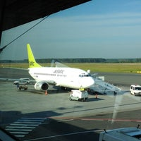 Photo taken at RIX | Terminal D by Lena Y. on 7/28/2013