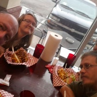 Photo taken at United Steaks Of America by Michael H. on 4/6/2014