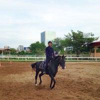 Photo taken at The Royal Horse Guard Riding Club by Sahutsa I. on 6/7/2014