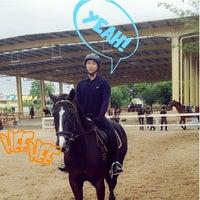 Photo taken at The Royal Horse Guard Riding Club by Sahutsa I. on 6/14/2014