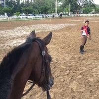 Photo taken at The Royal Horse Guard Riding Club by Sahutsa I. on 5/5/2014